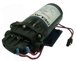 "Picture of Delavan Diaphragm Pump 12 V, 60 PSI, 2.0 GPM W/ 3/8"" FNPT Ports"