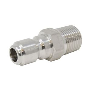 Picture of QD Plug, SS 3/8 x 3/8 NPT-M 6,000 PSI