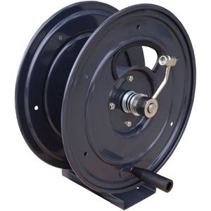 """Picture of 3/8"""" x 150' Industrial Hose Reel with Pedestal 5,000 PSI 300° F"""