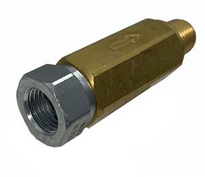 """Picture of High Pressure Inline Filter, 6000 PSI, 1/4"""" FPT x 1/4"""" MPT"""