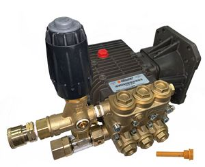 Picture of ZWD 4040G 4000PSI, 4.0GPM Comet Direct Drive Pump with Plumbing