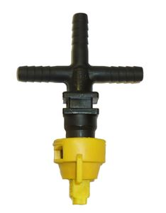 "Picture of ""Cross"" Nozzle Sub-Assembly (1/2"") W/ Check Valve Strainer"