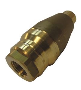 """Picture of Suttner ST-458 #12.0 Turbo / Hydro Excavation Nozzle (No Cover) 6,000 PSI 1/2"""" Inlet"""