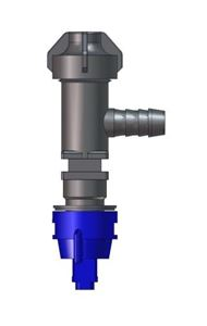 "Picture of ""ELL"" Nozzle Sub-Assembly (1/2"") 257 Boom W/ Check Valve Strainer"