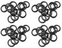 "Picture of 1/4"" Buna Black O-Ring, QC (100 Pack)"