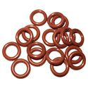 "Picture of 1/4"" Viton Brown O-Ring, QC (25 Pack)"