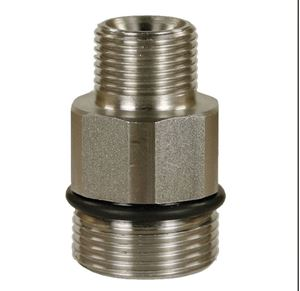 "Picture of Suttner ST-741 SS Screw Nipple, 3/8"" M x M24-15MM M 10,150 PSI"