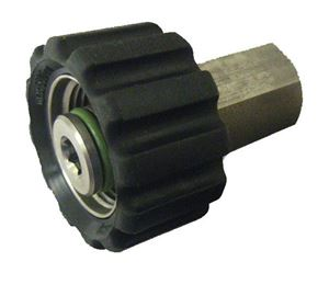 "Picture of Suttner ST-40 SS Screw Coupler, 1/4"" FPT x M22-14MM 7,250 PSI"