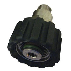 "Picture of Suttner ST-40 SS Screw Coupler, 1/4"" MPT x M22-14MM 7,250 PSI"