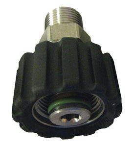 "Picture of Suttner ST-40 SS Screw Coupler, 3/8"" MPT x M22-14MM 7,250 PSI"