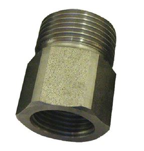 """Picture of Suttner ST-41 SS Screw Nipple, 3/8"""" FPT x M22-14MM 5,800 PSI"""
