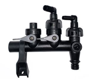 """Picture of Fimco QC Manifold Assembly - 3/8"""" EL HG 1/2"""" EL Boom Open ByPass"""