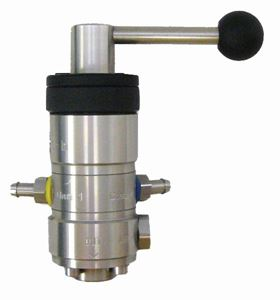 """Picture of Suttner ST-164 Stainless Chemical Bypass Injector #2.4 - 3.2, 3/8"""" F x 1/2"""" F"""