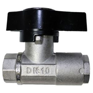 "Picture of MTM Hydro 3/8"" Premium Plated Brass Ball Valve 3,000 PSI"