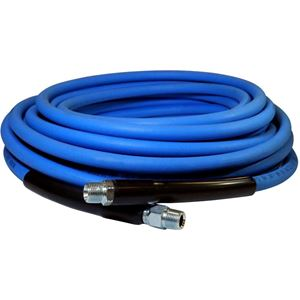 "Picture of CLEANSTREAM 4,000 PSI 5/16"" x 50' Blue Non-Marring Hose"