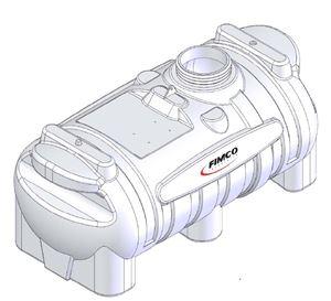 Picture of Fimco 25 GAL.BM Spot Spray Tank White(12LB) Nylon Inserts
