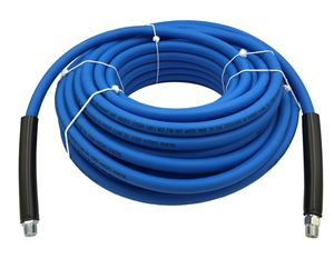 "Picture of UBERFLEX 4,000 PSI 3/8"" x 200' Blue Flexible & Light Weight Hose"