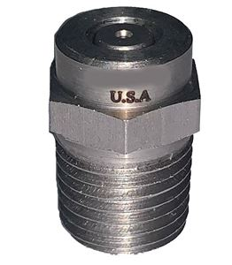 "Picture of GP 0º x #10.0 M-Style Spray Nozzle 1/4"" NPT-M"