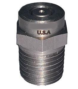 "Picture of GP 0º x #4.5 M-Style Spray Nozzle 1/4"" NPT-M"