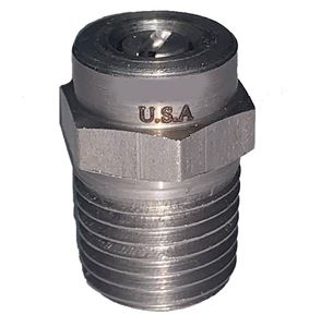 "Picture of GP 65º x #1.3 M-Style Spray Nozzle 1/4"" NPT-M (Water Broom)"