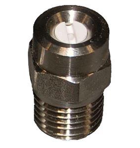 "Picture of #2.0 x 25º 1/4"" MPT High Pressure Ceramic Spray Nozzle"