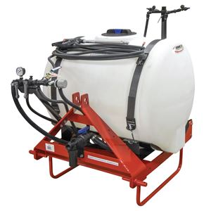 Picture of 3 Point Sprayer Complete, 110 Gallon 2 Boomless Nozzles Pump & Handgun (110-3PT-BL)