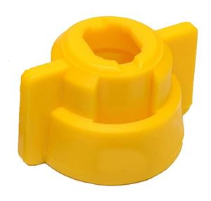 Picture of Quick Fitting Cap Only, Yellow
