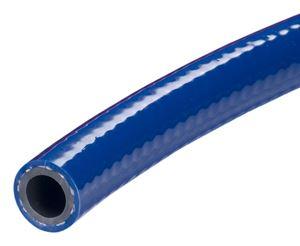 "Picture of 3/4"" x 100' Kuri Tec Blue PVC Air & Water Hose 200 PSI"