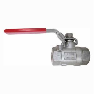 """Picture of 3/4"""" Stainless Steel Ball Valve 2000 PSI, F x F"""