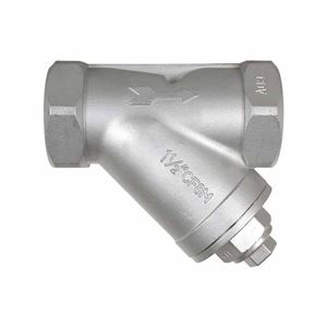 """Picture of Class 800 Stainless Steel Y-Strainer 1-1/2"""" FPT"""