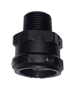 "Picture of Everflo Female QA x 3/8"" MNPT Fitting, Black"