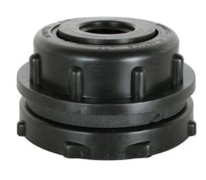 "Picture of 3/4"" NPT Polypropylene Bulkhead Fitting"