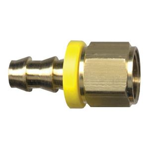 Picture of 3/8 ID x 1/4 FPT Brass Grip-Tite Fitting
