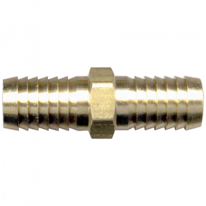 Picture of 3/8 ID Brass Hose Barb Splicer