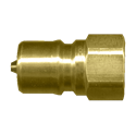 Picture of 1/4 Nipple x 1/4 FPT ISO B 7241-1 Brass 3,500 PSI Quick Disconnect