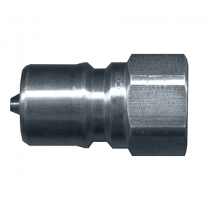 Picture of 1/4 Nipple x 1/4 Female Pipe ISO B 7241-1 Steel 5,000 PSI Quick Disconnect