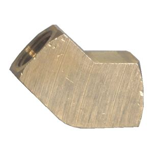 Picture of 1/8 FPT Extruded Brass 45° Elbow