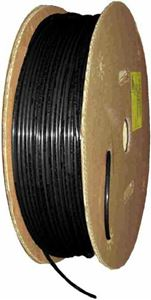 Picture of FLEX-DOT 1/2 OD X 500 FT Black Reinforced Air Brake Tube - Type 3B