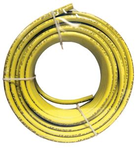 Picture of FLEX-DOT 3/8 OD X 100 FT Yellow Reinforced Air Brake Tube - Type 3B