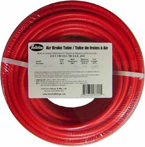 Picture of FLEX-DOT 1/2 OD X 50 FT Red Reinforced Air Brake Tube - Type 3B