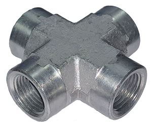 Picture of 1/2 FPT Cross Steel
