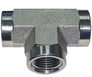 Picture of 1/8 FPT Tee Steel