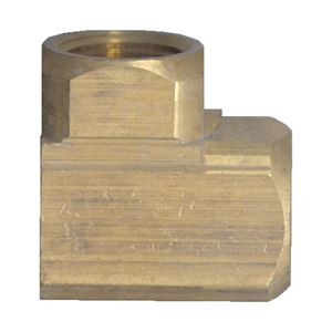 Picture of 1/4 FPT Extruded Brass 90° Elbow