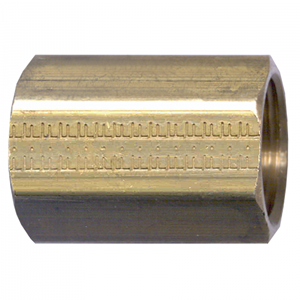 Picture of 3/8 FPT Brass Coupling