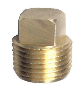 Picture of 1/4 MPT Brass Plug Square Head