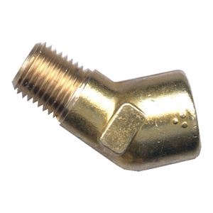 Picture of 3/8 MPT x 3/8 FPT Forged Brass 45° Street Elbow