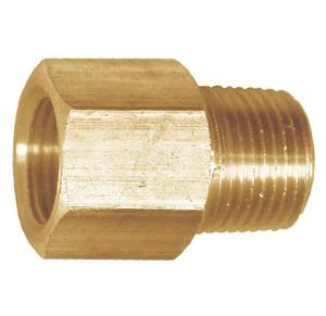 Picture of 3/8 Tube OD x 1/4 MPT Brass Connector