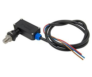 """Picture of PA PR16 / GP Pressure Switch, 220 Switching (Blue), 1/4"""" M Stainless Steel 5,000 PSI"""