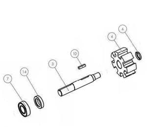 Picture of Delavan RollerPRO® 7 Roller Pump Kit