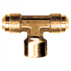 Picture of 3/8 Tube OD x 1/4 Female Pipe Brass Female Branch Tee